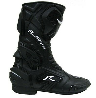 Rjays Altitude 2 Motorcycle Boots Black - ALL SIZES