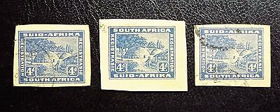 South Africa Regestered Mail Cutouts