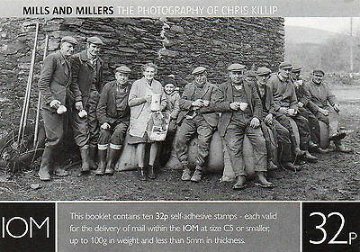 Isle of Man  2009 Mills & Millers £3.20 self adhesive booklet  UM (MNH)