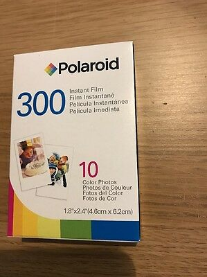 Polaroid 300 Film PIF-300 10 Prints