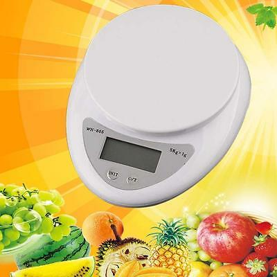 5kg 5000g/1g Digital Electronic Kitchen Food Diet Postal Scale Weight Balance SF
