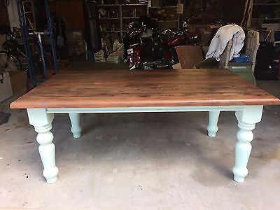 Oregon Hardwood Antique Dining Table
