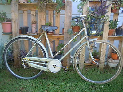 OLYMPIA RARE  WOMAN BICYCLE YEARS 50s HIGH QUALITY COMPONENTS BICI OLYMPIA DONNA