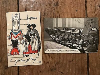 Early 1900s French Postcards