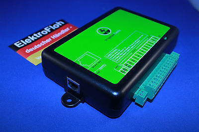 Ethernet irrigation caddy controller Bewässerungssystem Rainbird ICEthS1 NEU NEW