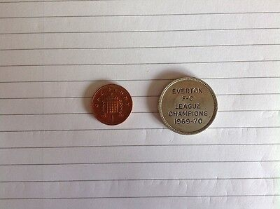 Everton FC Coin Collector Old 10 Pence