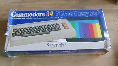 Commodore 64 Micro Computer With Power Pak - Boxed In Very Good Condition