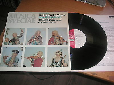 Musica Sveciae The Swedish Mass J H Roman Proprius Audiophile-84 with booklet!!