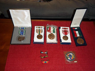 Mixed Lot of Vintage Military Medals and Bars