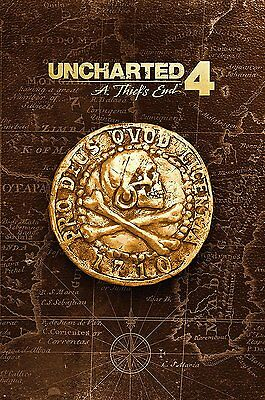 Guide Uncharted 4: A Thief's End - édition collector Version Française 320 pages
