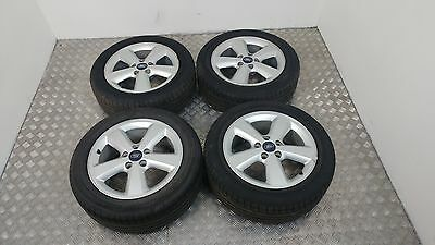 """2005 Ford Focus Mk2 16"""" Alloy Wheels X 4 With Tyres 205/55/r16"""