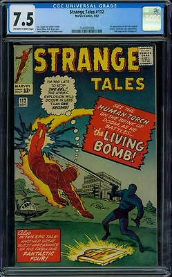 Strange Tales 112 CGC 7.5 - OW/W Pages