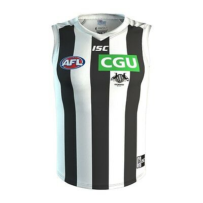 Collingwood Magpies 2017 Official AFL ISC Clash Guernsey Football Jumper BNWT Md