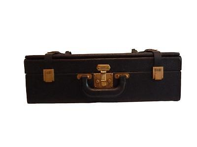 Rare 1979 Hermes Sp Order Expandable Leather Hard Sided Pilots Attache Case