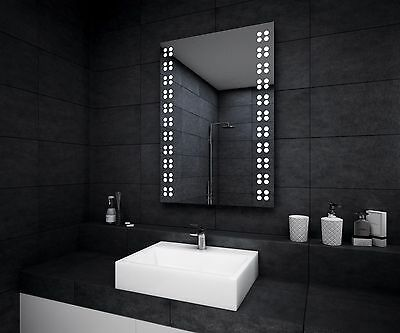 LED ILLUMINATED BATHROOM MIRROR | Demister | Sensor | Shaver | IP44