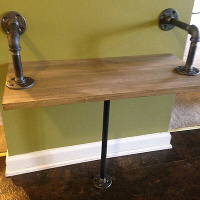 Industrial Rustic Urban Pipe Bench (pick your own stain)