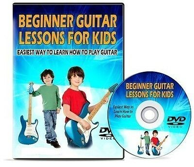 Acoustic Guitar DVD for Teaching Children / Kids. Learn How To Play 4 Beginners