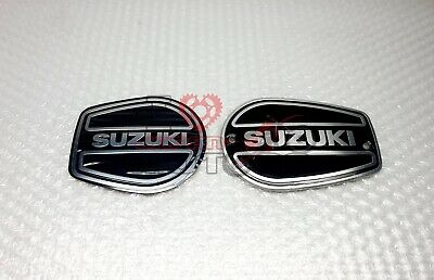 Suzuki A100 New Genuine Engine Emblem Pair Left Right