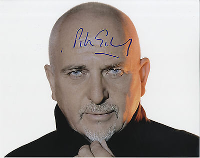 Peter Gabriel ' English Singer & Musician Genesis ' In Person Signed Photograph.