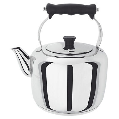 Stellar Stainless Steel Traditional Stove Top Kettle for Aga RAYBURN 3.3 Litre