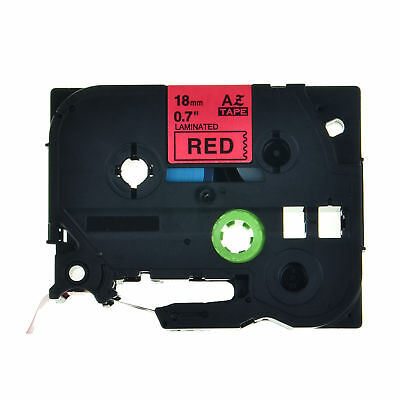 1PK TZ-441 Black on Red Label Tape TZe-441 18mm For Brother P-touch PT-2730 8M