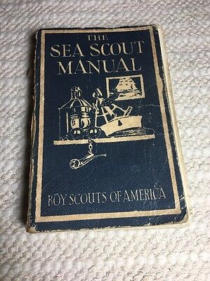 BSA Sea Scout Manual 1942 6th Edition, 3rd Printing