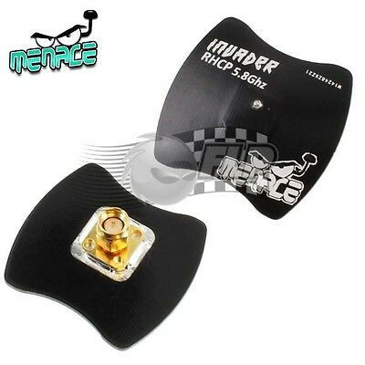 Menace RC Invader Antenna 5.8Ghz RHCP Patch M-INVDR