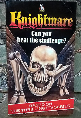 Knightmare - can you beat the challenge 1988 Vintage Anglia TV  Children's Corgi