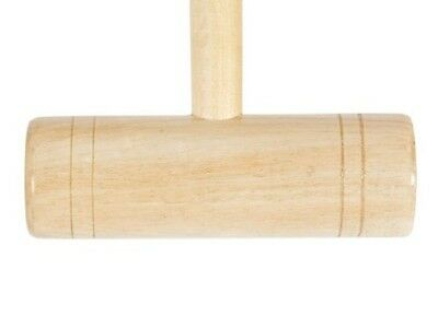 Uber Games Family Croquet Mallet 24 Inch Handle With A Hardwood Head. Childrens