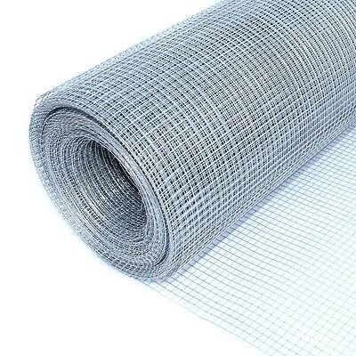 ALEKO 1/4 In Mesh Wire Roll Cloth 23 Gauge Steel 40 Ft Long  WM40X40M1/4G23