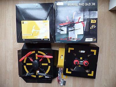 RC Logger Eye One Xtreme 6-Axis AutoLevel Gyro Quadcopter 2.4GHz Toy Brushless