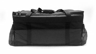 Case of 2 OvenHot Black Medium Insulated Meals on Wheels Food Delivery Bag NEW