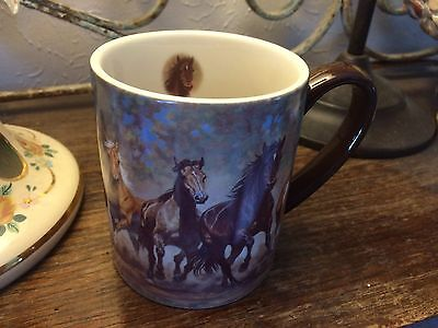 Lang Taking Flight Horse Lover Coffee Tea Cup