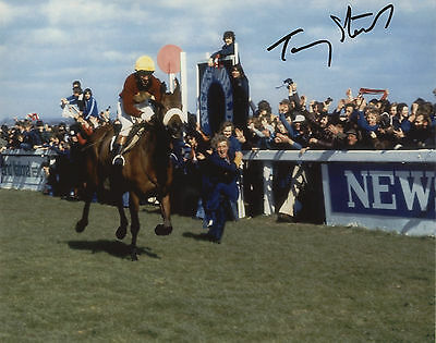 Tommy Stack on Red Rum winning the 1977 Grand National Signed Photo.