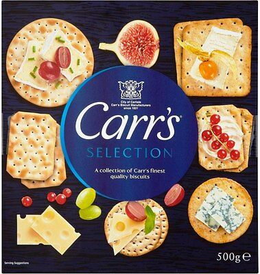 Carr's Selection (6x500g)