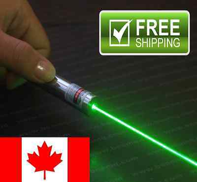 5mW Green Laser Pointers Fast & Free Shipping Canadian Seller BRAND NEW