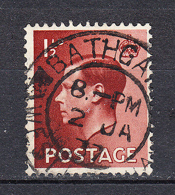 GREAT BRITAIN - 1936 - SG # 459 - 1½d  - used - King Edward VIII - Lux - C3924
