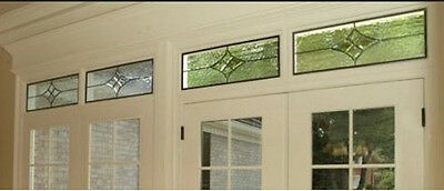 Bevel Cluster Diamond window   V4412 Great small window to install or hang