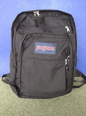 Jansport big student backpack navy blue • $14.99 - PicClick