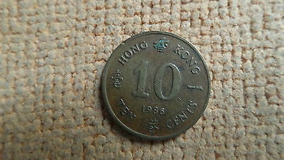 Hong Kong 10 and 20 cent