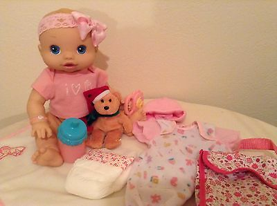Baby Alive doll Wets and Wiggles anatomically correct girl