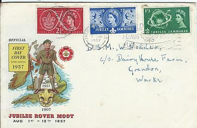 1957 Scout Jamboree First Day Cover