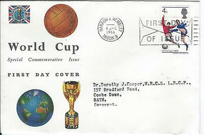 1966 World Cup First Day Cover