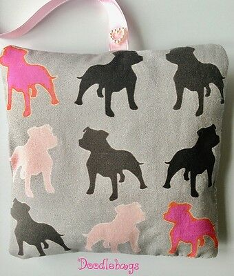Staffordshire Bull Terrier Staffy Lavender Gift Mothers Day Easter Bag Dog Lead