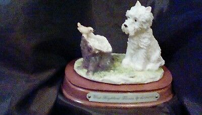 West highland white terrier by leonardo collection
