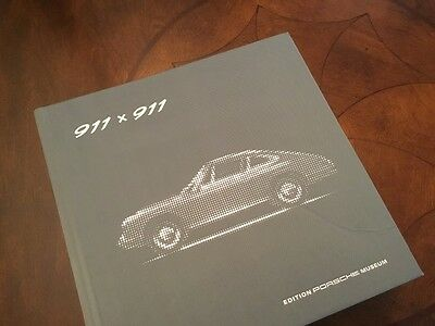 Porsche 911x911 Book Official 50th Anniversary Celebrating 50 Years of the 911