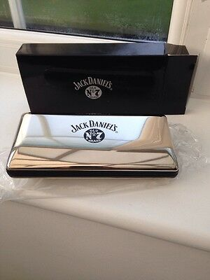 Jack Daniels Old No.7 Tennessee Whiskey Glasses Case, New - Unwanted Gift
