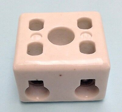 Ceramic Connector Terminal Block 30A 2 Pole  6mm  (Pack of 20 pieces)
