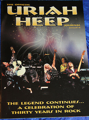 URIAH HEEP- Official journal 2000-2001(36 pages)