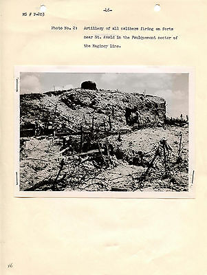 WWII Study:  German Attacks against Fortifications